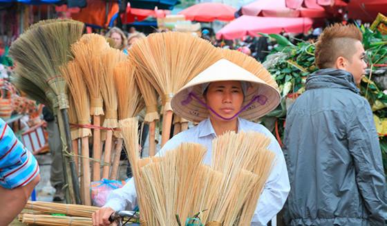 Ein Nachmittag für Einwohner aus Indochina, Myanmar und Thailand