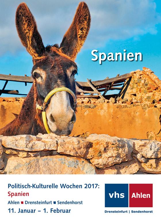 Politisch-Kulturelle Wochen 2017: Spanien
