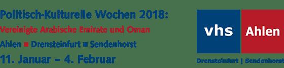 Politisch-Kulturelle Wochen 2018