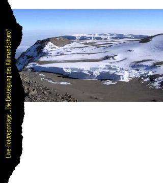 Die Besteigung des Kilimandscharo