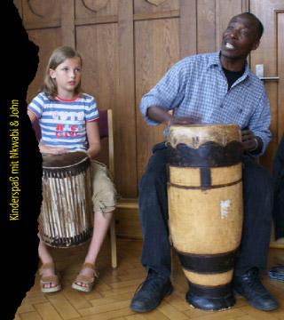 Kinderspaß mit Nkwabi & John