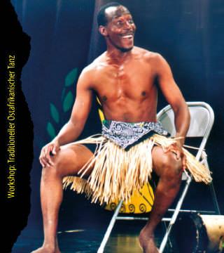 Traditioneller Ostafrikanischer Tanz