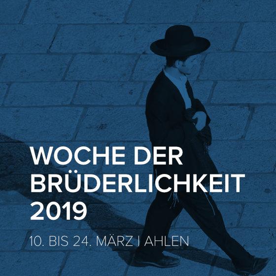 Woche der Brüderlichkeit 2019
